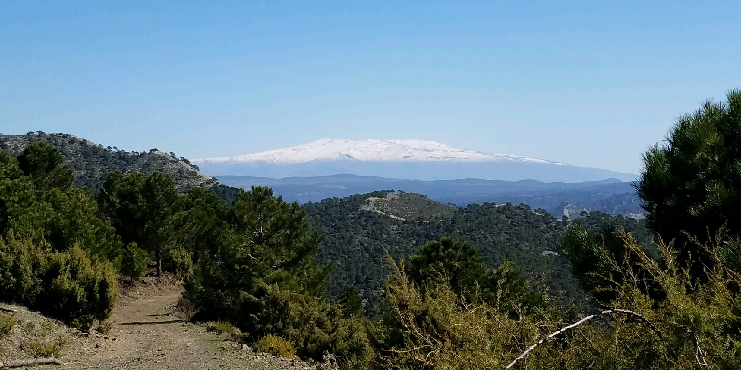 Sierra Nevada Mountains, Southern Espana